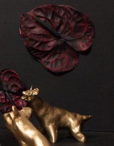 Khachik Khachatouryan, sculptor, Los Angeles, Hyena