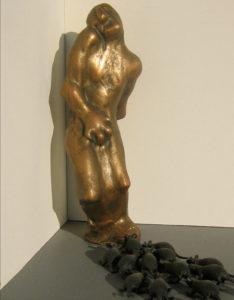 Khachik Khachatouryan, sculptor, Los Angeles, 2006