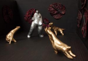 Khachik Khachatouryan, sculptor, Los Angeles, The Whore